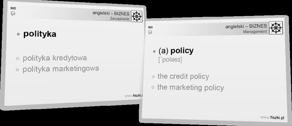 Business English polityka