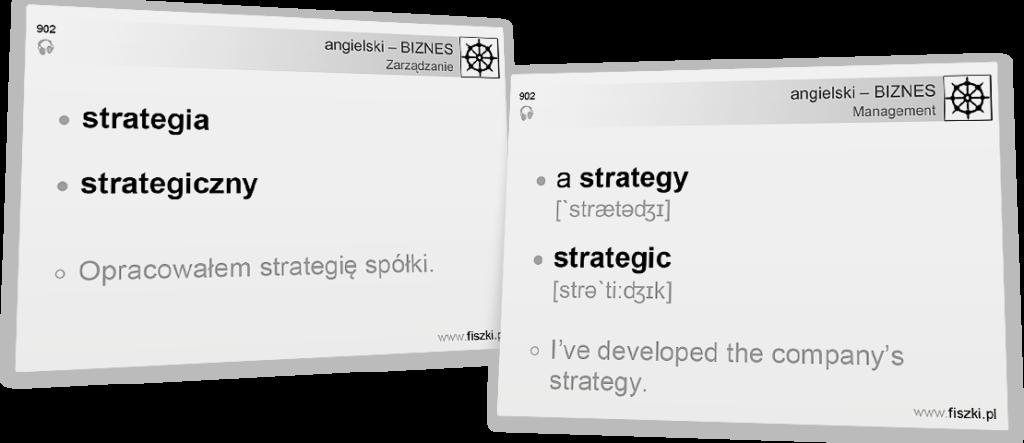 Business English strategia