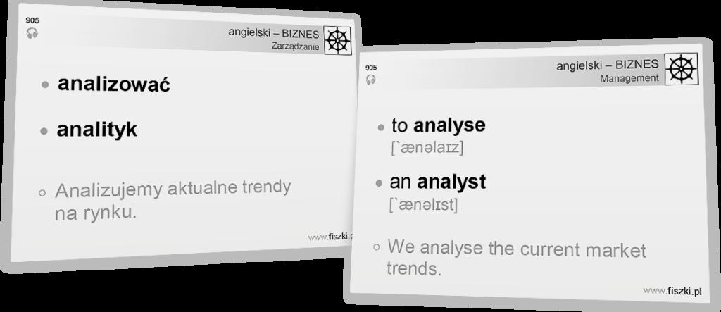Business English analizować