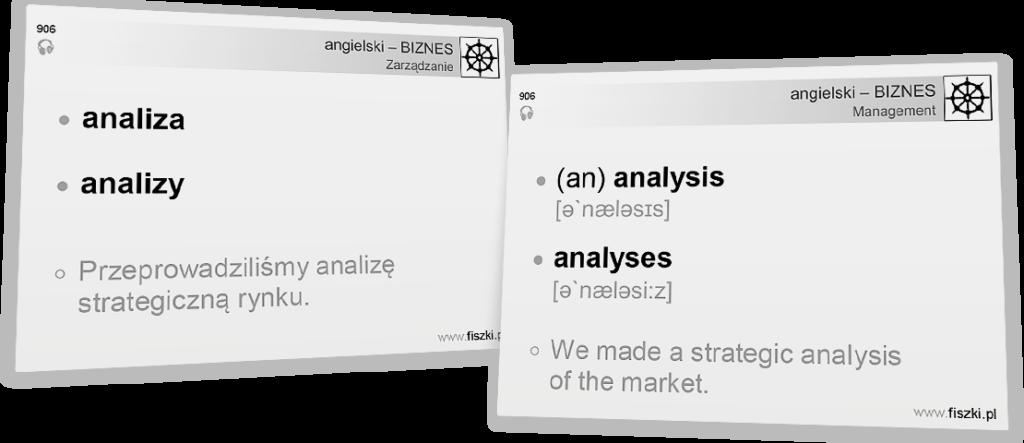 Business English analiza